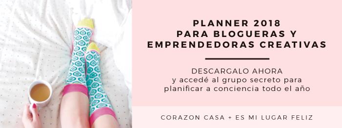 Descargá el Planner para Blogueras y Emprendedoras Creativas