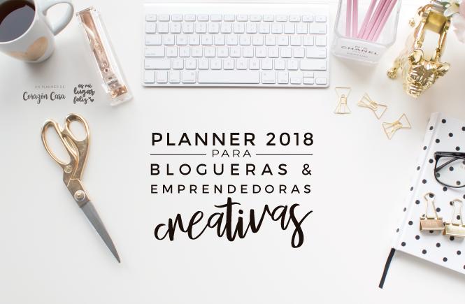 PLANNER PARA BLOGUERAS Y EMPRENDEDORAS CREATIVAS