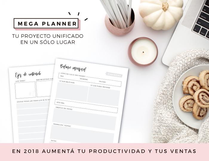 Mega Planner - Tu proyecto unificado en un sólo lugar