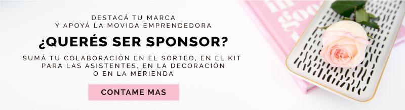¿Querés ser sponsor? Click acá