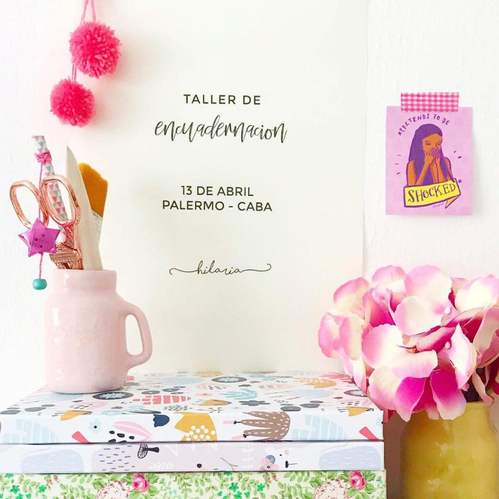 Hilaria cuadernos - taller abril