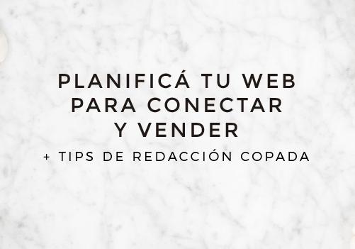Taller online: PLANIFICÁ TU WEB PARA CONECTAR Y VENDER MÁS