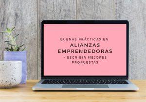 Buenas prácticas en ALIANZAS emprendedoras - Taller online - LEER MÁS