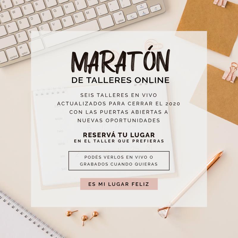 Maratón de talleres online